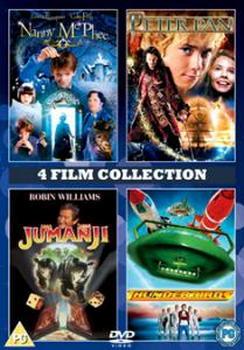 Nanny Mcphee & Peter Pan & Jumanji & Thunderbirds (DVD)