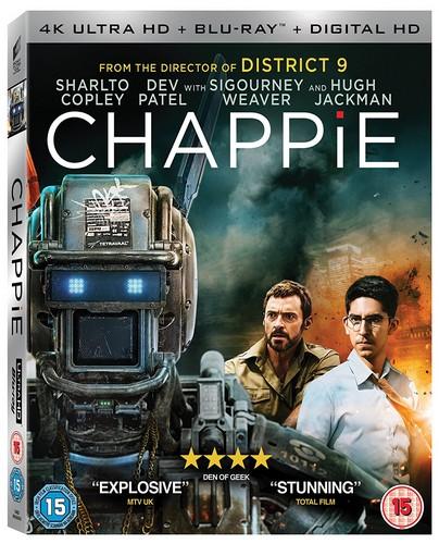 Chappie (2 Disc 4K UHD & Blu-ray)