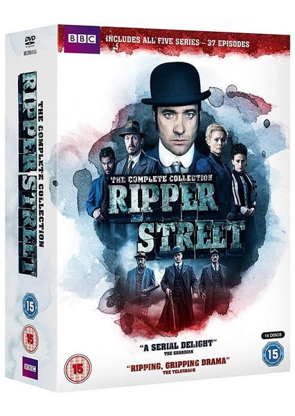 Ripper Street - Complete Box Set (Series 1-5) (DVD)