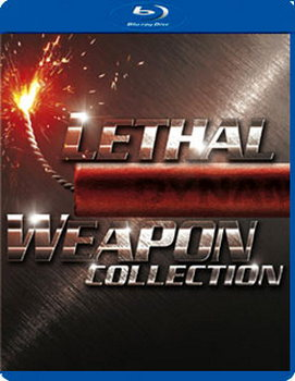 Lethal Weapon Collection - 1 - 4 Boxset (Blu-Ray)