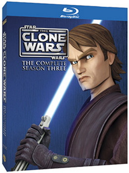 Star Wars: The Clone Wars - The Complete Season Three (Blu-Ray)
