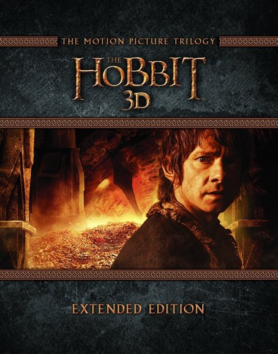 The Hobbit: Trilogy - Extended Edition (Blu-Ray)
