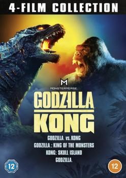 Godzilla & Kong 4-Film Collection [DVD] [2021]