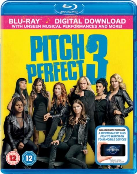 Pitch Perfect 3 (Blu-Ray + digital download) [2018] [Region Free] (Blu-ray)