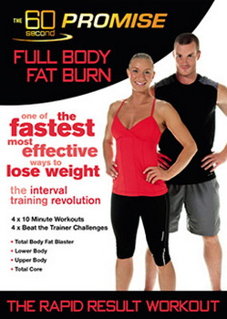 60 Second Promise : Full Body Fat Burn (DVD)