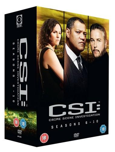 CSI Vegas: Seasons 6-10 (DVD)
