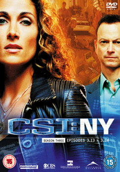C.S.I: Crime Scene Investigation - New York - Season 3 Part 2 (DVD)