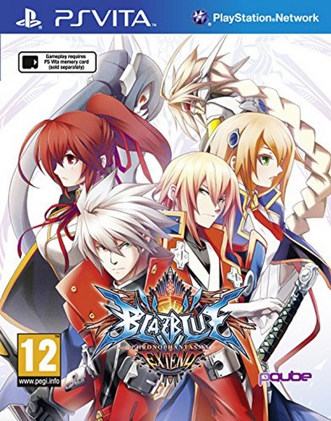 BlazBlue: Chrono Phantasma Extend (Playstation Vita)