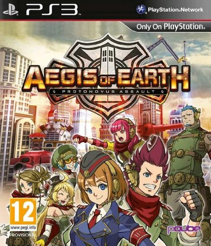 Aegis of Earth: Protonovus Assault (PS3)