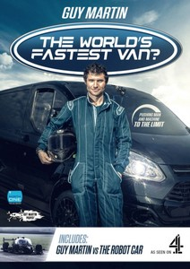 Guy Martin's The World's Fastest Van? & Robot Car (DVD)