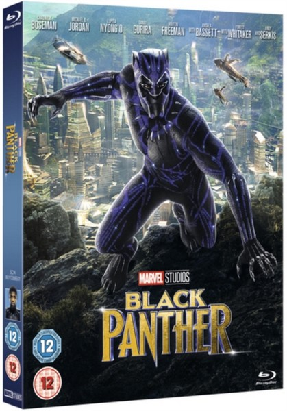 Black Panther [Blu-Ray] [2018] [Region Free]