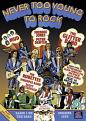 Never Too Young To Rock (DVD)