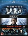 Prometheus / I  Robot / Abraham Lincoln Vampire Hunter Triple Pack (Blu-ray 3D)
