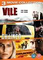 Abduction Triple (Vile / Chained / Carjacked) (DVD)