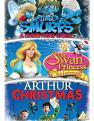 Arthur Christmas/ The Smurfs: A Christmas Carol/ The Swan Princess Christmas (DVD)