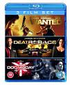 Wanted / Death Race / Doomsday (Blu-Ray)
