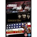 Longest Day / A Bridge Too Far / Patton (DVD)
