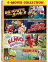 The Muppets: Muppets Movies (In Space/ Take Manhattan/ Kermit's Swamp Years/ Adventure's Of Elmo) (DVD)