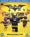 The LEGO Batman Movie [Includes Digital Download] [Blu-ray 3D] [2017] (Blu-ray)