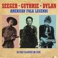 Seeger/Guthrie/Dylan - American Folk Legends [3CD Box Set] (Music CD)