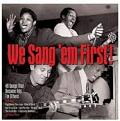 Various Artists - We Sang 'Em First [Double CD] (Music CD)
