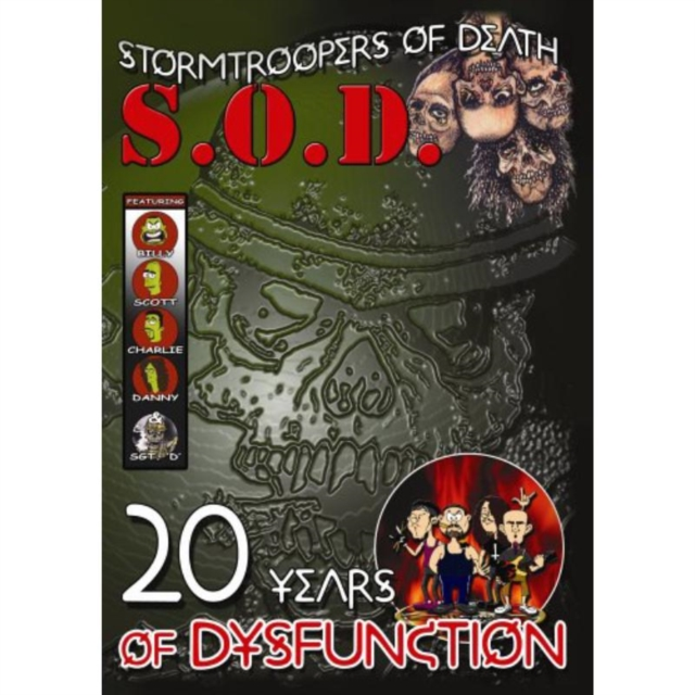 S.O.D. - 20 Years Of Dysfunction (DVD)