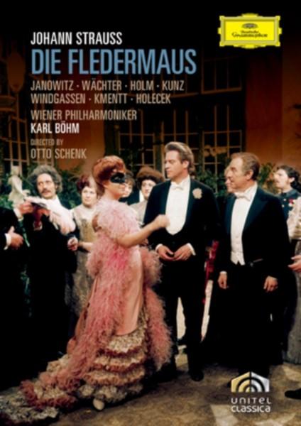 Johann Strauss - Die Fledermaus - Karl Bohm/Wiener Philharmoniker (DVD)
