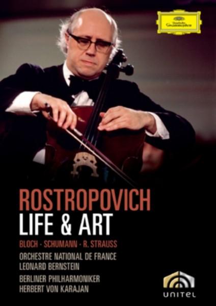 Rostropovich - Life And Art (DVD)