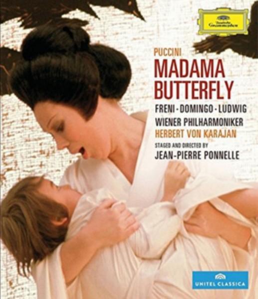 Madama Butterfly: Wiener Staatsoper (Karajan) [Blu-ray] (Blu-ray)