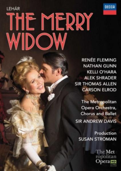 The Merry Widow: The Metropolitan Opera (Davis) [Blu-ray] [2015] (Blu-ray)
