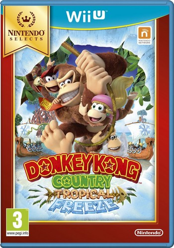 Donkey Kong Country Returns - Tropical Freeze (Selects) (Wii U)
