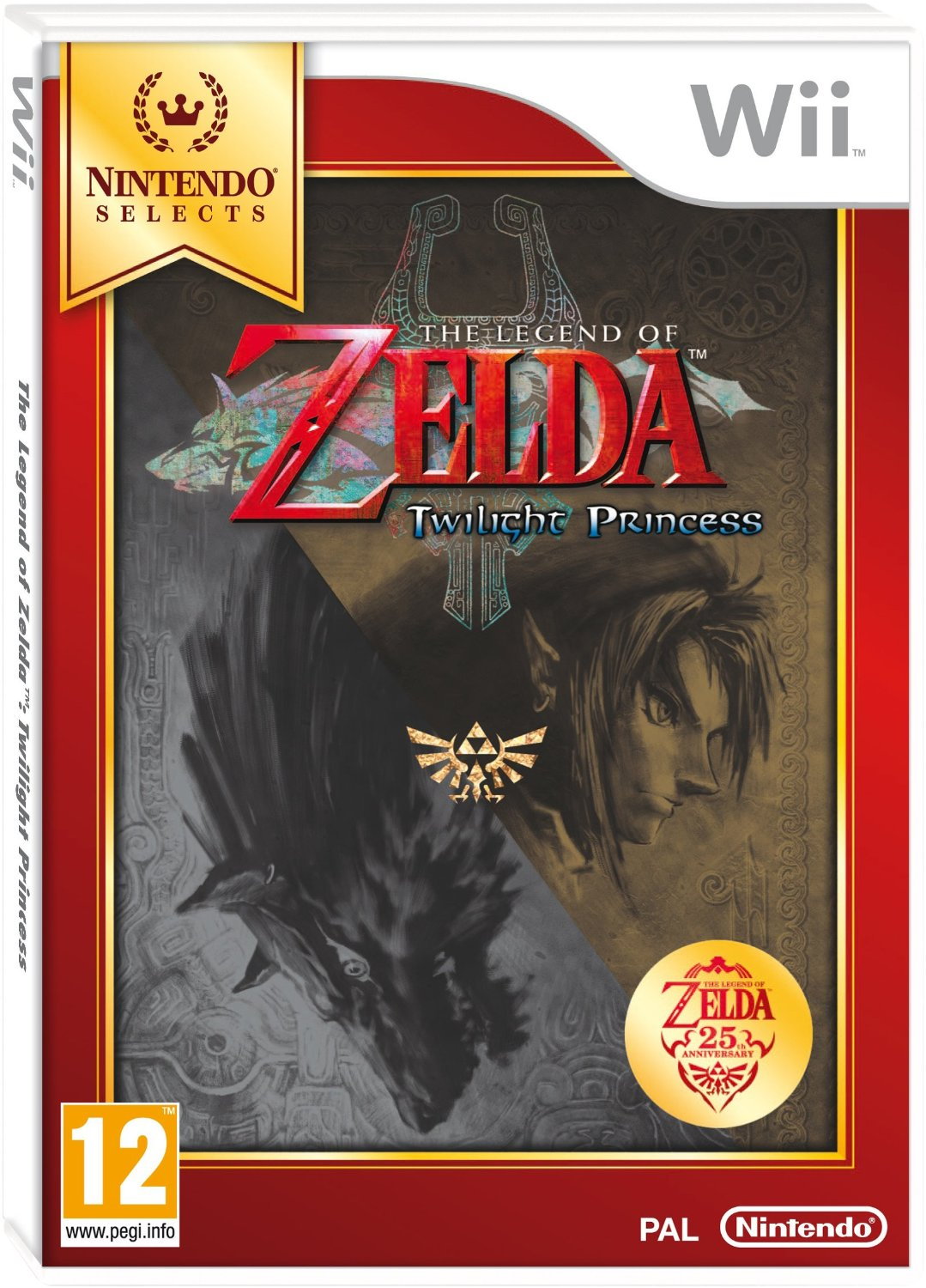 The Legend of Zelda: Twilight Princess - Selects (Wii)