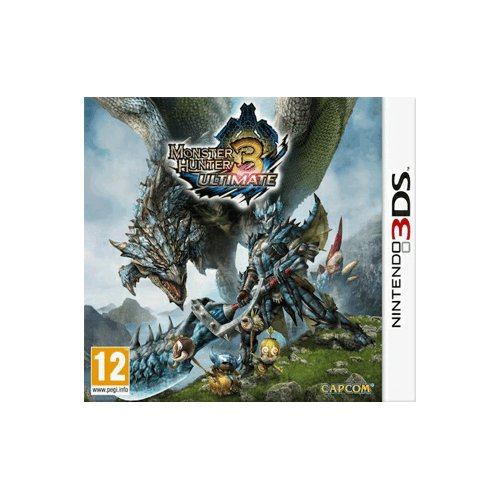 Monster Hunter 3 Ultimate 3D (Nintendo 3DS)