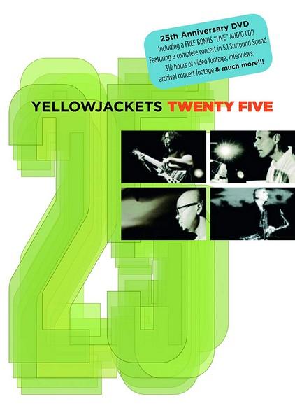 Yellow Jackets-25 + Cd        (Dvd) (DVD)
