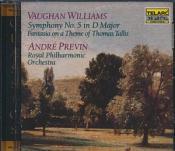 Vaughan Williams: Symphony No 5; Tallis Fantasia