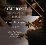 Anton Bruckner: Symphonie Nr. 4 es-dur (Music CD)