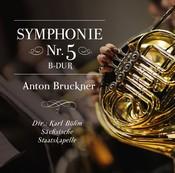 Anton Bruckner: Symphonie Nr. 5 B-dur (Music CD)