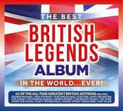 Various Artists - The Best British Legends Album In The World…Ever! (Music CD)