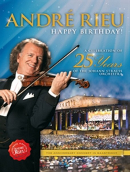 Andre Rieu - Celebration Of 25 Years Of The Johann Strauss Orchestra (DVD)