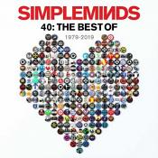 Simple Minds - 40: THE BEST OF – 1979 – 2019 (Double Vinyl)