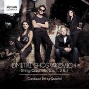 Carducci Quartet - Shostakovich: String Quartets Nos. 1  2 & 7 (Music CD)