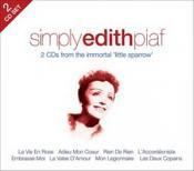 Edith Piaf - Simply Edith Piaf (2CD) (Music CD)
