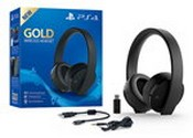 Gold Wireless Headset (PS4)