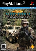 SOCOM 3 (Socom III) US Navy SEALs Platinum Solus (PS2)