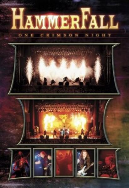 HAMMERFALL-ONE CRIMSON NIGHT  (DVD)