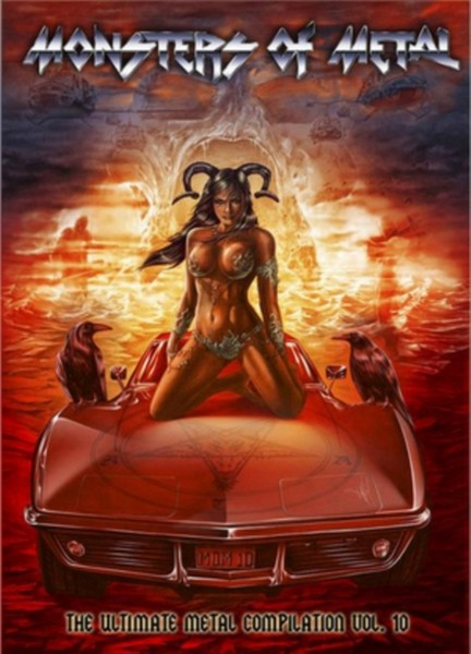 Various Artists - Monsters Of Metal Vol 10 (Blu-Ray + 2Dvd) (Blu-Ray) (DVD)