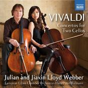Vivaldi: Concertos for Two Cellos (Music CD)