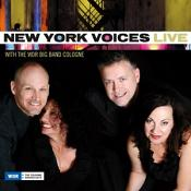 New York Voices - Live with the WDR Big Band Cologne (Live Recording) (Music CD)