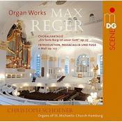 Max Reger: Organ Works - Choralfantasie Op. 27  Introduktion  Passacaglia und Fuge Op. 127 (Music CD)