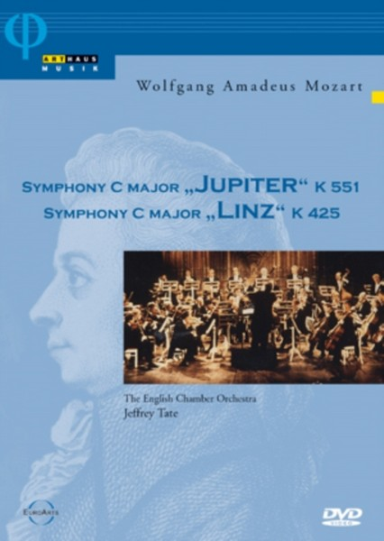 Mozart: Symphony In C Major Jupiter / Symphony In C Major Linz (DVD)